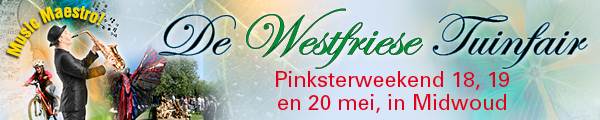 Banner West Friese tuinfair